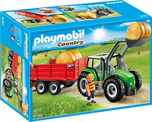 PLAYMOBIL Traktor 6130 - Großer Traktor mit Anhänger