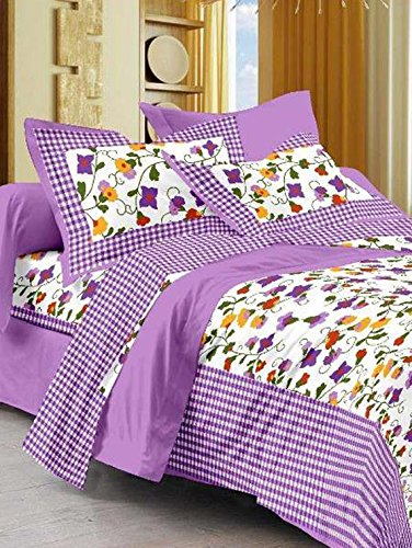 bedsheetS( Rangeela rajasthan cotton rajasthani king size double bedsheet with 2 pillow cover)