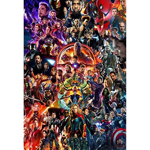 Puzzle WYF Avengers Poster, Infinity War Movie Stills, Wooden Jigsaw Puzzles 300,1000 Pezzi,...