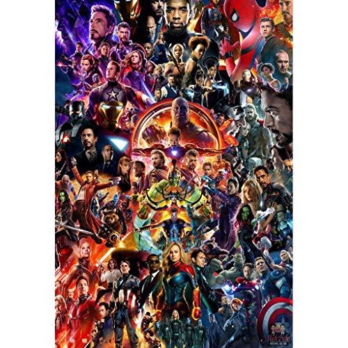 Puzzle WYF Giocattoli per Bambini, Poster di Avengers, Stile Europeo, Film di Infinity War Stills...