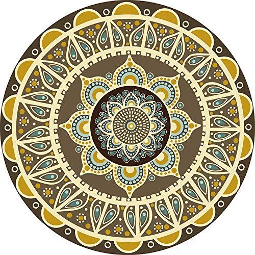 IMON LL TappetiTappeti orientali e tappeti Tappeti Rotondi Bright Vintage Mandala Tappeto Floreale...