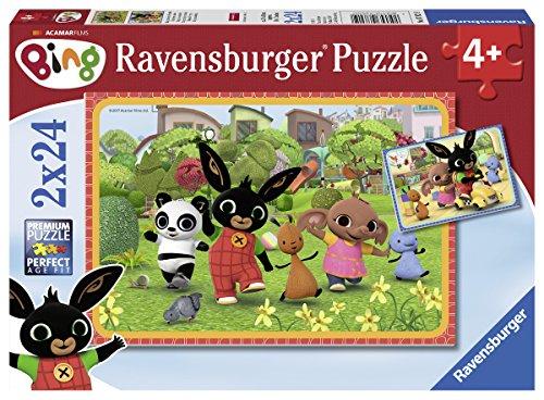 Ravensburger Puzzle 2x24 Bing, Multicolore, 7821