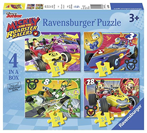 Ravensburger Italy Puzzle in a Box Topolino Roadster Racers, 06900 2