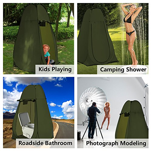 WolfWise Pop Up Toilet Tent Camping Outlander Camping Store - Camping bathroom tent