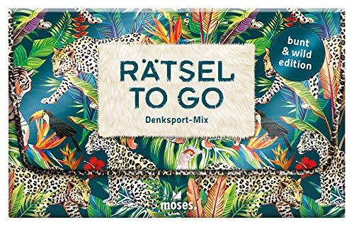 Rätsel to go Denksport-Mix: bunt & wild edition