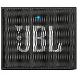 JBL GO Diffusore Bluetooth Portatile, Ricaricabile, Ingresso Aux-In, Vivavoce, Compatibilità Smartphone/Tablet e Dispositivi MP3, Nero Antracite