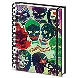 DC Comics Sr72151 Suicide Squad Skulls A5 Wiro Notebook