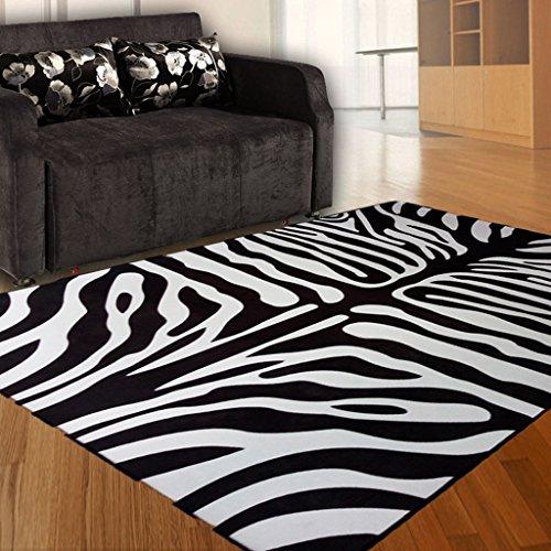 Gbf Tappeti Moda tappeti alla Moda zebrati tappeti Personalizzati in Bianco e Nero tappeti per...