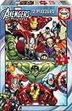 Puzzles Educa - 2 puzzles de 48 piezas con diseño de Avengers (15932)
