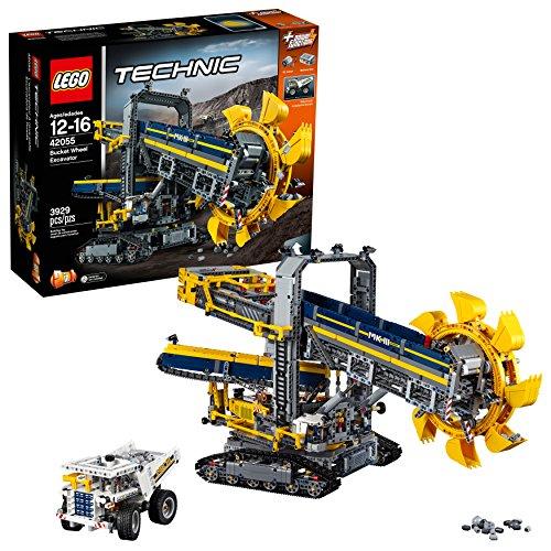Lego Technic- Technic Escavatore da Miniera Costruzioni Piccole Gioco Bambina Giocattolo 519, Colore...