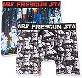 Star Wars Freegun, Boxer Uomo, Mehrfarbig (Multicolor A17), L (pacco da 2)