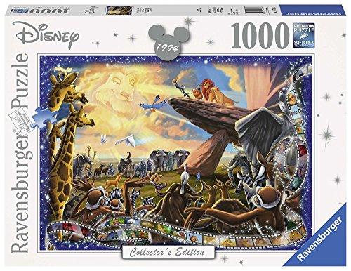 Ravensburger Italy Puzzle Il Re Leone Disney, 1000 Pezzi, 19747 7