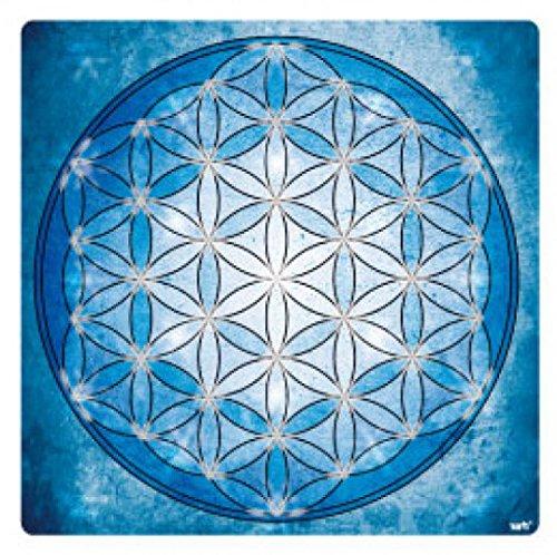 Mandalas - La Flor De La Vida, Elemento Agua Pegatina Vinilo Autoadhesivo (9 x 9cm)