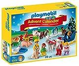 Playmobil - 9009 - Jeu - Calendrier Avent 1 2 3 à La Ferme