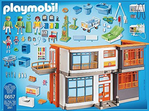 PLAYMOBIL 6657 – Kinderklinik mit Einrichtung - 3