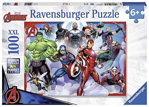 Ravensburger Italy Marvel Avengers Puzzle da 100 Pezzi, 10808