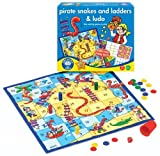Pirates Snakes And Ladders And Ludo by Orchard Toys [Toy]