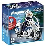 PLAYMOBIL - Moto de policía (5185)