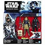 STAR WARS Rogue One Imperial Death Trooper e Rebel Commando Pao Deluxe Figura con Storm Trooper Armour Encasing (2-Figure)