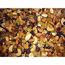 Mélange de fruits secs - Bonne Qualité - Sac transparent - 500g