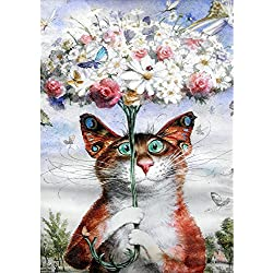 Xmansky Mundo animal pintado del águila tigre Cuadros punto de cruz kit Full taladro gato bordado de punto de cruz artes manualidades lienzo