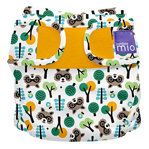 Bambino Mio, miosoft mutandina contenitiva copripannolino, orsetto lavatore, taglia 2 (9 kg+)