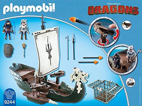 PLAYMOBIL 9244 – Dragos Schiff - 3