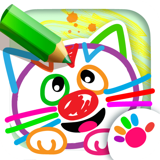 Drawing For Kids All Drawings Come To Life Babies Learn To Draw Animals In Coloring Book Baby Painting Games For Kindergarten Children Animal Learning Toddlers Apps Toddler Educational Paint Game 4