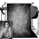 Fotografia Sfondo, 1,5m*2,2m Retro Art fumè ritratto sfondo grigio per studio puntelli foto sfondo