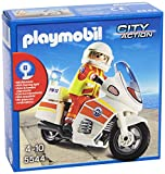 PLAYMOBIL Guardacostas - City Action Moto de Emergencias con Luz Vehículos de Juguete, Color Multicolor 5544