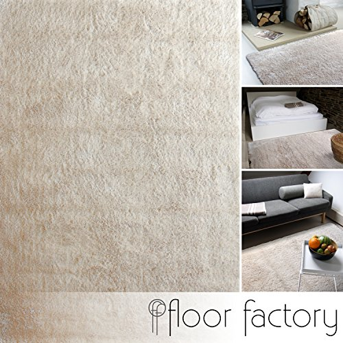Tappeto moderno Delight beige 200x200cm - tappeto esclusivo morbido e serico