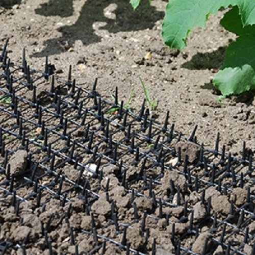 The Defenders Prickle Strip Dig Stopper is specifically designed for installing in planted grounds. If you have been struggling to keep cats off your flower beds, then the Dig Stopper is your perfect solution. You can even install this near fences or specific places where cats tend to jump down into planted areas.