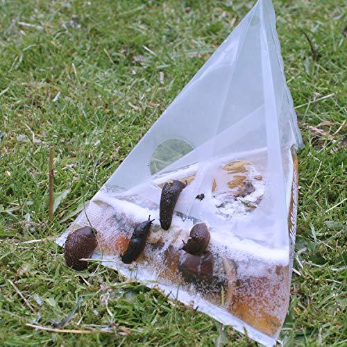 NoSlug Set di 40esche per lumache, igienico, usa e getta e senza veleno.