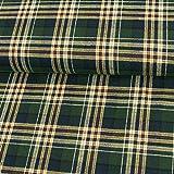 Stoffe Werning Flanella Cotone a Quadretti Blu Verde Giallo Tessuto di Cotone a Quadretti Tessuto alla Moda - Prezzo valido per 0,5 Metri.
