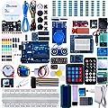 Elegoo Scheda UNO R3 per Arduino Progetto Starter Kit Piu Completo per Principianti con Tutorial in Italiano Learning Kit di Apprendimento (63 Articoli)