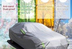 MATCC Bâche Auto Housse Étanche Protection avec Sécurités Réfléchissants Couverture Etanche Protection de Neige et D'ombrage de Soleil Pour N'importe Quelle Saison(4.7 x 1.8 x 1.5m) Acheter en ligne