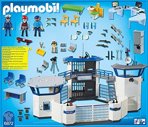 PLAYMOBIL 6872 – Polizei-Kommandozentrale mit Gefängnis - 3