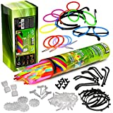 Mit unserem Mega Knicklicht-Party Pack hast Du alles, was Du zu Deiner nächsten Party brauchst. Durch die unterschiedlichen Verbinder kannst Du Deine Party zum Hingucker machen. Mit den 3D-Verbindern, den Kreisverbindern und den 7-Lochverbindern kann...