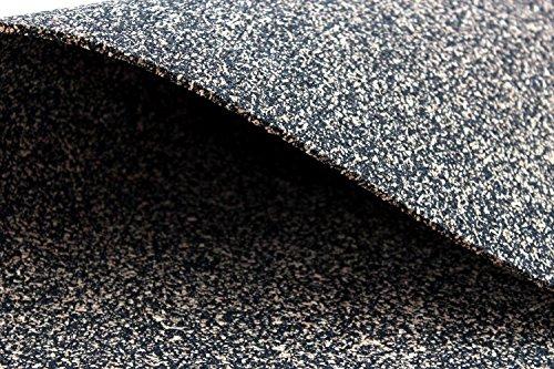 Gomma In Sughero, granulato di gomma, Vibration protezione Matte, isolamento acustico 100cm x...