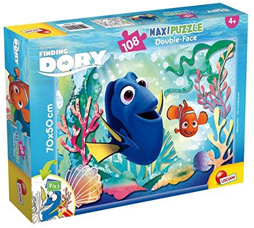 Lisciani Giochi- Puzzle DF Supermaxi 108 Dory Emotions, 56958