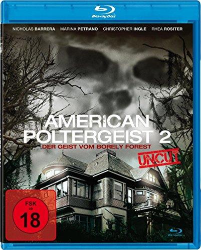 American Poltergeist 2 - Der Geist von von Borely Forest - Uncut [Blu-ray]