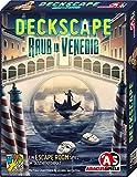 ABACUSSPIELE 38182 - Deckscape - Raub in Venedig, Escape Room Spiel, Kartenspiel