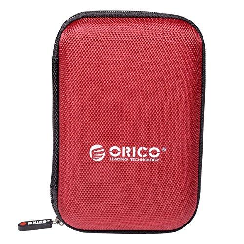 ORICO Custodia Protettiva per 2,5 Pollici HDD SSD Protezione Externo Portatile Anti-Shock Case per...