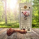 Edelschinken Kau-Knochen groß für Hund (M) von Tiera Gourmet