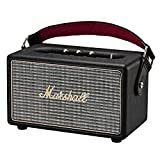 Marshall Speaker Kilburn Portatile a Batteria Bluetooth per MP3/Smartphone, Nero
