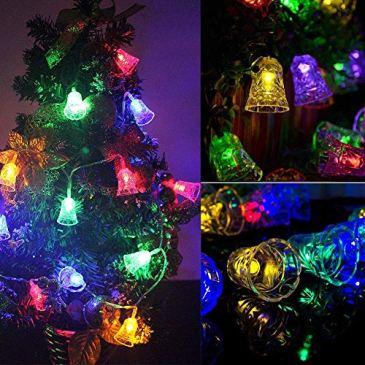 Guirlande lumineuse LED en cuivre – Fonctionne avec piles