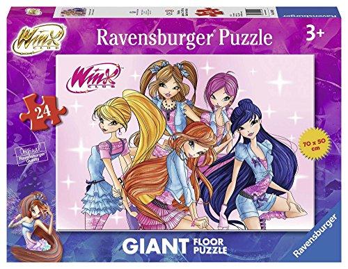 Ravensburger 05442 - Winx Giant Floor Puzzle, 24 Pezzi