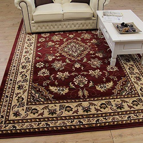Tappeto orientale classico, grande, in stile persiano, tradizionale, con motivo floreale, colore...