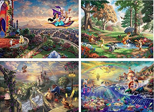 Puzzle - Disney - 4-in-1 Multi-Pack Collection #3 3667-1