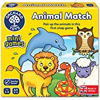 Orchard Toys Animal Match Mini/Travel Game